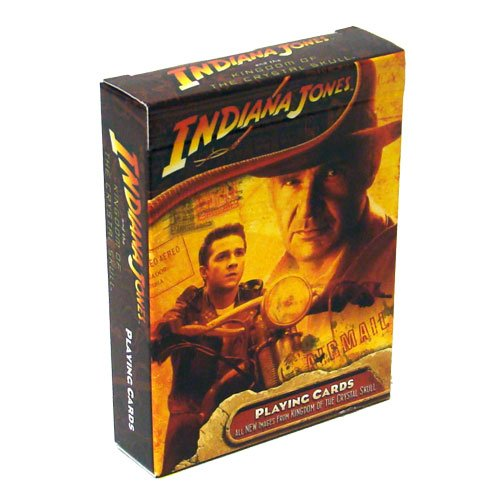 Deck of Indiana Jones Crystal Skull Playing Cards
