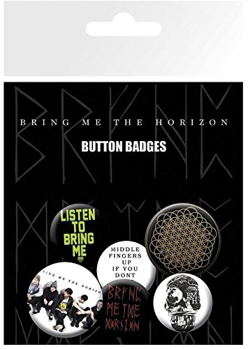 GB eye LTD, Bring Me the Horizon, Sempiternal, Pack de Chapas