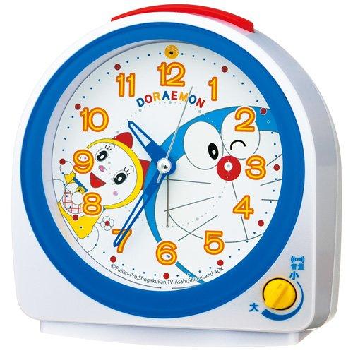 SEIKO CLOCK (セイコークロック) ドラえもん キャラクター目覚まし時計 クオーツ 電子音  CQ613W