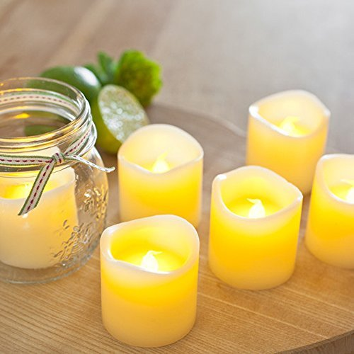Gorgeous Flameless Candles - Flickering - Romantic - Battery Powered