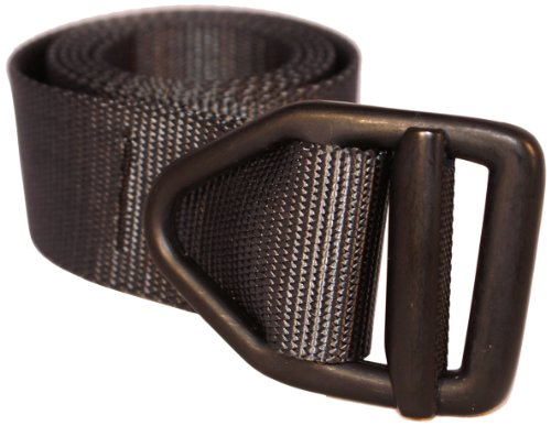 Bison Designs 38mm wide Light Duty Last Chance Belt with Black Buckle (Black, 38-Inch Maximum Waist/Medium)