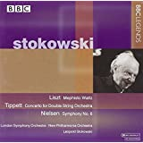 Conducts Liszt/Gabrieli/Tippet