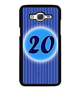 Fuson 2D Printed Numerology Designer back case cover for Samsung Galaxy J5 - D4240