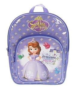 Disney Sofia the First Kids Rucksack (1001) mit Vorfach 31x23x10cm Kinderrucksack
