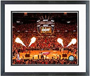 Miami Heat American Airlines Arena NBA Photo (Size: 22.5 x 26.5) Framed by NBA