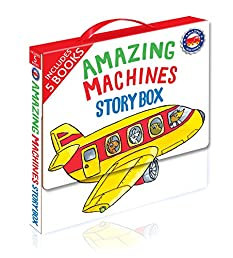 Amazing Machines Story Box: 5 Paperbacks in a Carry Case