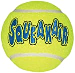 Kong Air Squeakair Ball, Medium, Pack...