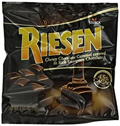 Riesen Chewy Chocolate Caramel - 2.65oz (Pack of 8)