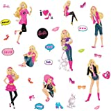 RoomMates RMK1620SCS Barbie Peel & Stick Wall Decals