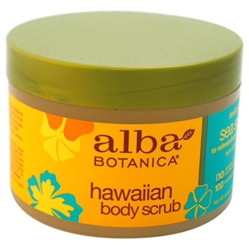 Alba Botanica Hawaiian, Sea Salt Body Scrub, 14.5 Ounce