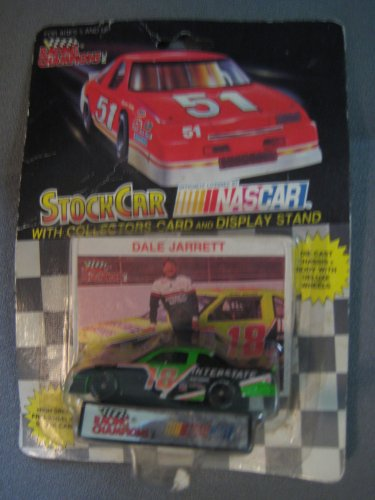 Racing Champions Dale Jarrett #18 die cast with card and stand