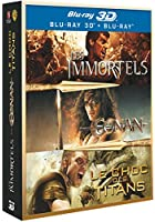 Conan 3D + Les immortels 3D + Le choc des Titans 3D [Blu-ray 3D]