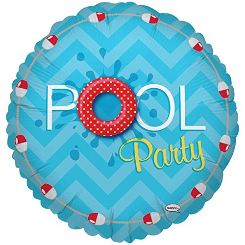 Splashin' Pool Party Foil Balloon