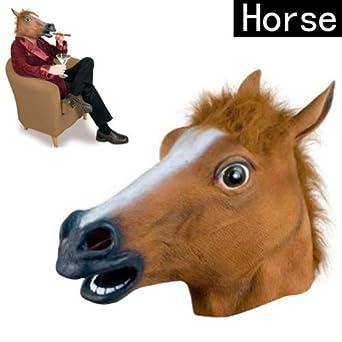 Halloween Horse head Mask