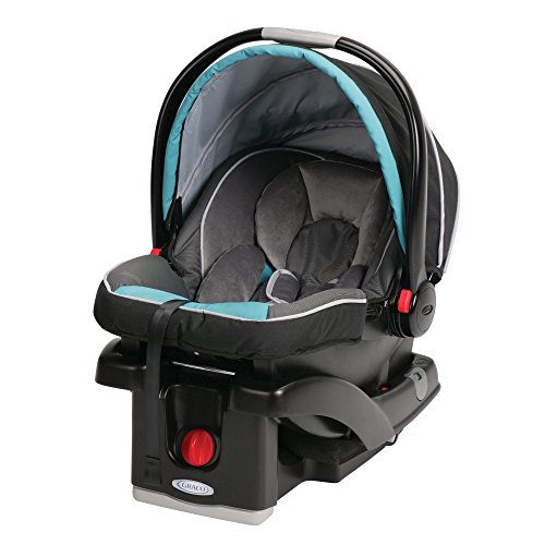 Graco Snugride Click Connect Infant Car Seat, Tidalwave (Discontinued by Manufacturer) - 1