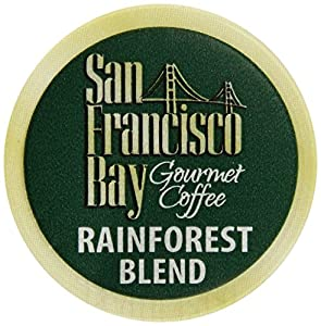 San Francisco Bay Coffee Rainforest Blend, 36-Count OneCup Single Serve Cups