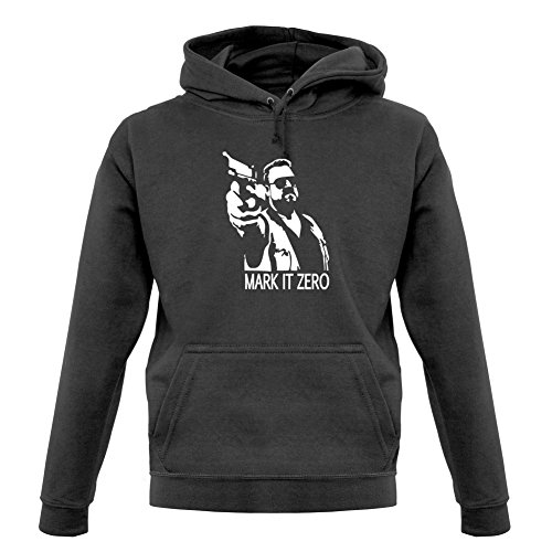 Dressdown Mark It Zero - Unisex Hoodie-Graphite-Large