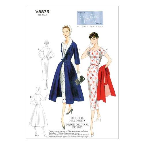 vogue-patterns-v8875-patrones-de-costura-para-vestidos-con-cinturon-y-abrigos-con-cuello-de-quita-y-