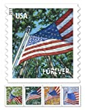 USPS Forever Stamps Four Flags (All Seasons) Roll of 100