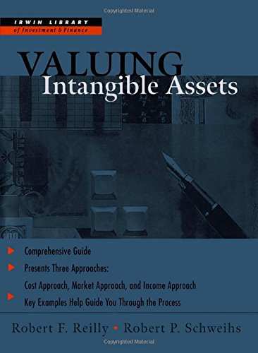 Valuing Intangible Assets, by Robert F. Reilly, Robert P. Schweihs