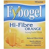 Fybogel Natural Hi-Fibre Orange Fibre Drink Sachets - Pack of 10