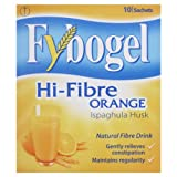 Fybogel Natural Hi-Fibre Orange Fibre Drink Sachets - Pack of 10