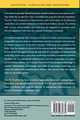 Curriculum Leadership: Beyond Boilerplate Standards