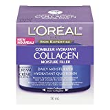L'Oreal Paris Collagen Moisture Filler Day/Night Cream, 1.7-Fluid Ounce