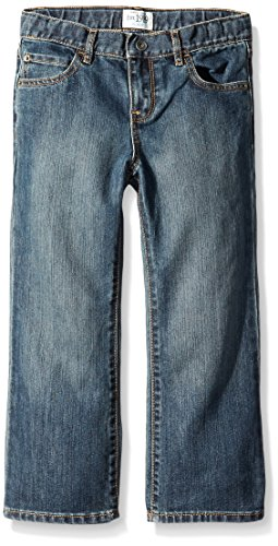 The Children's Place Husky Boys Bootcut Jean, Dust Bowl Wash, 6 Husky