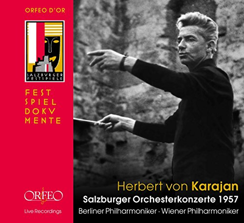 Herbert von Karajan: Salzburger Orchesterkonzerte 1957 (4CD)