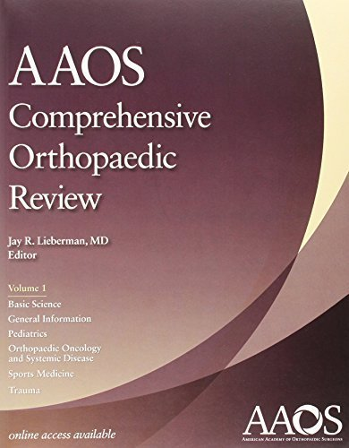 AAOS Comprehensive Orthopaedic Review (2 Volume set and Study Guide)