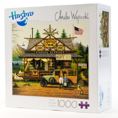 Cheap Hasbro Charles Wysocki: Proud Little Angler 1000 piece puzzle (B005I4RDP8)