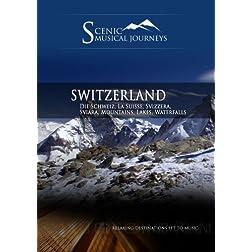 Naxos Scenic Musical Journeys Switzerland Die Schweiz, La Suisse, Svizzera, Sviara, Mountains