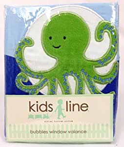 Kids Line Bubbles Window Valance