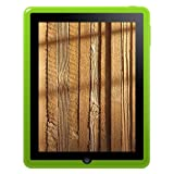 Amzer Soft Gel TPU Skin case for Apple iPad Tablet,(Green)