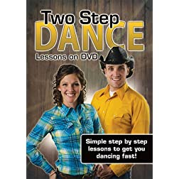 Two Step Dance Lessons on DVD