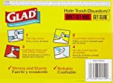 Glad Odor Shield Garbage Bags, White - 4 gal - 26 ct - 2 pk
