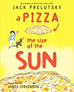 A Pizza the Size of the Sun by Jack Prelutsky cover image