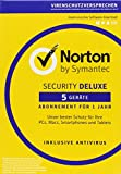 Software - SYMANTEC Norton Security Deluxe (5 Ger�te - PC, Mac, Smartphone, Tablet)