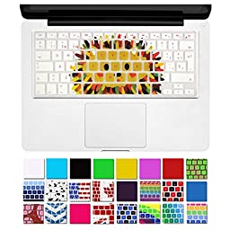 DHZ® Hedgehog Animal Series Keyboard Cover Silicone Skin for MacBook Air 13\
