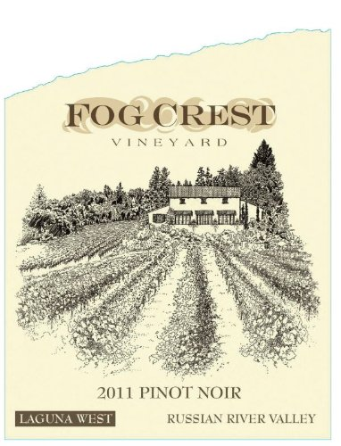 2011 Fog Crest Laguna West Pinot Noir  750 Ml