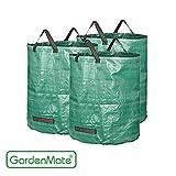 GardenMate® 3x Gartensack 272l aus robustem Polypropylen-Gewebe 150gsm