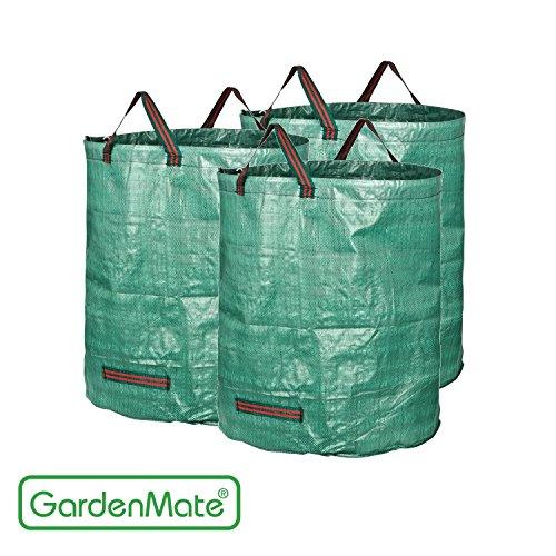 GardenMate® - Matt 3 sacchi giardino cantiere 272l rifiuti