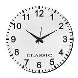 MeSleep Classic Wall Clock With Glass Top