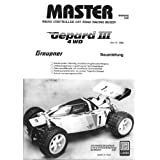 Garbo Graupner MASTER GEPARD 3 gas buggy instruction manual ~ Garbo Graupner