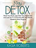 img - for 3 Day Detox: Reset Your Body, Jump-Start You Metabolism and Lose Up To 10 Pounds With The Ultimate Weekend Detox Program book / textbook / text book