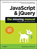img - for JavaScript & jQuery: The Missing Manual book / textbook / text book