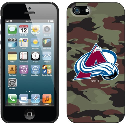 Great Sale Colorado Avalanche« Traditional Camo design on a Black iPhone 5s / 5 Thinshield Snap-On Case by Coveroo