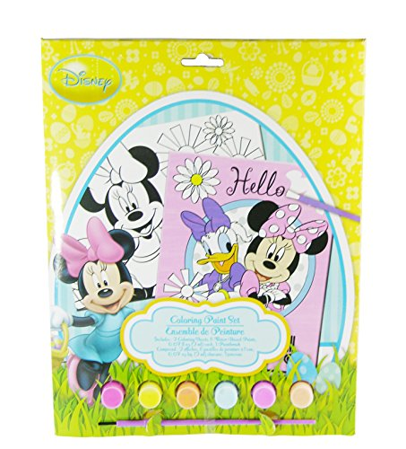 Disney Minnie Mouse Easter Coloring Paint Set