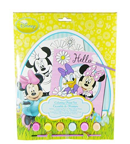 Disney Minnie Mouse Easter Coloring Paint Set